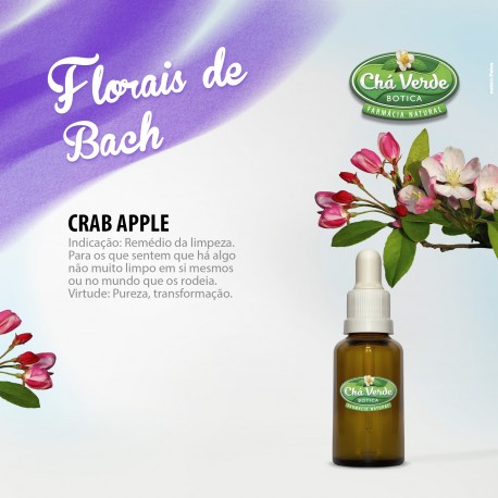 Crab Apple florais de bach 30 ml