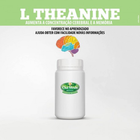 L Theanine  200 Mg 60 Caps